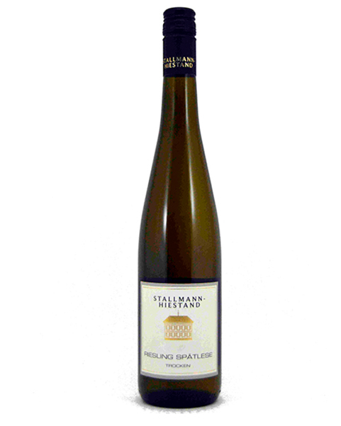STALLMANN-HIESTAND-RIESLING-SPATLESE